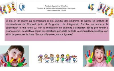 Conmemoración día Mundial del Síndrome de Down